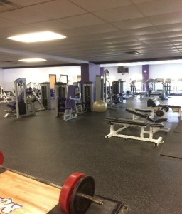 The fitness center. Photo credit: Marquis Cherry
