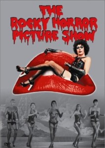 Movie poster for the release of The Rocky Horror Picture Show