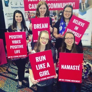 Natalie Correll and her sorority sisters making an impact at one of their latest conferences.