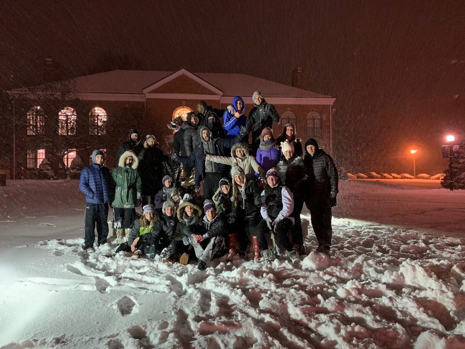 snow bearcat team pic
