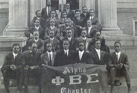 Phi Beta Sigma fraternity in 1914
